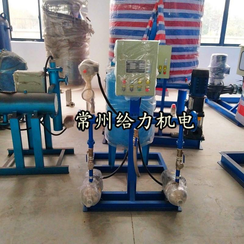 上海客户预定的定压补水装置,加药装置,全自动软水器,电子水处理器,不锈钢水箱发货啦!
